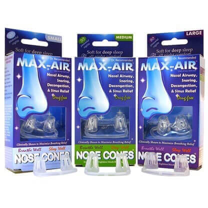 Max-Air Nose Cones Small Medium Large Sizes