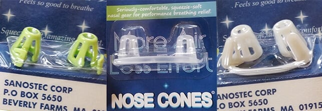 Max-Air Nose Cones | Sinus Cones are securely packaged for your safety